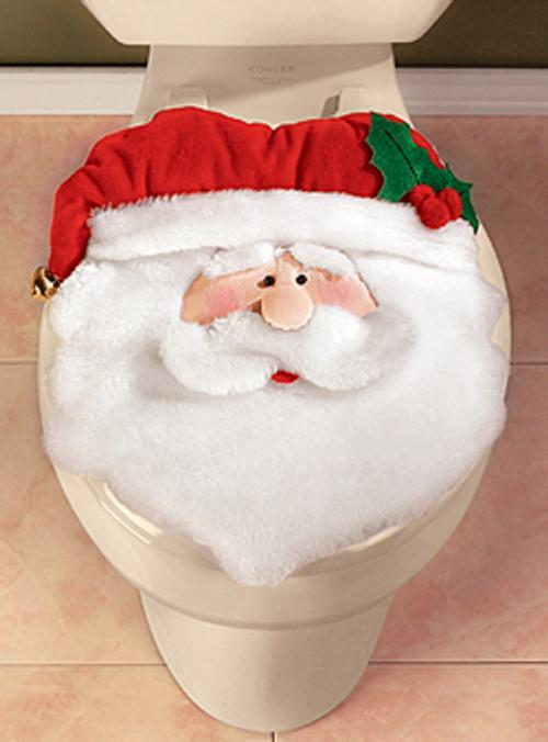 Accesorios para decorar el cuarto de ba o en navidad for Juego de artefactos de bano