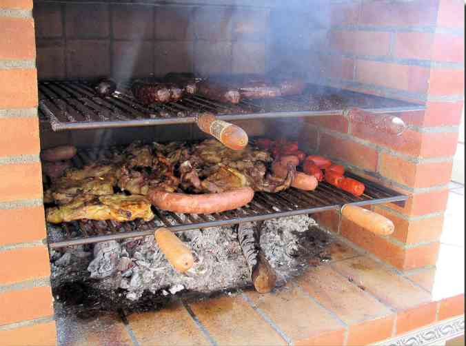 Tipos de parrillas o barbacoas for Planos barbacoa