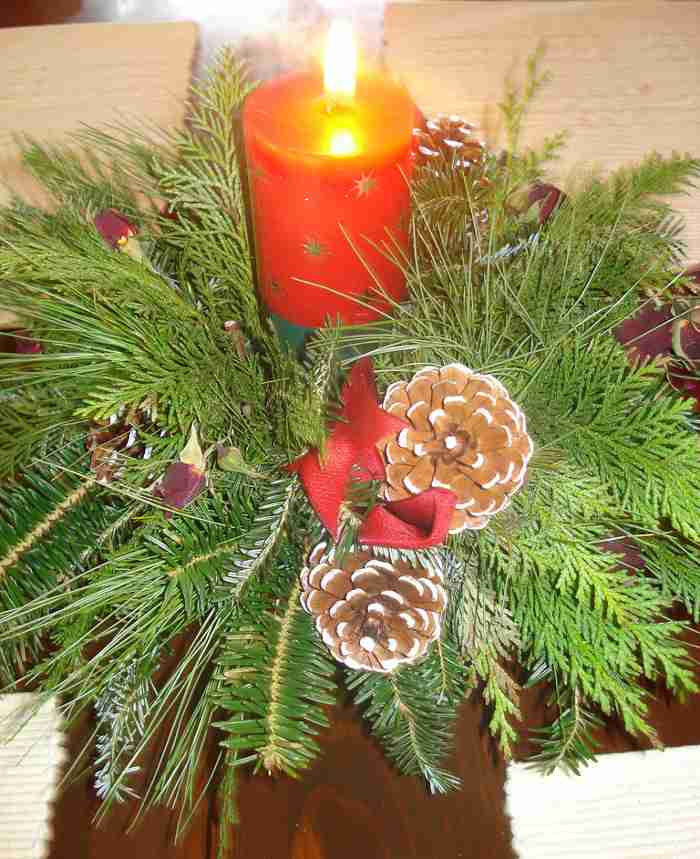 ideas de centros de mesa para navidad segunda parte
