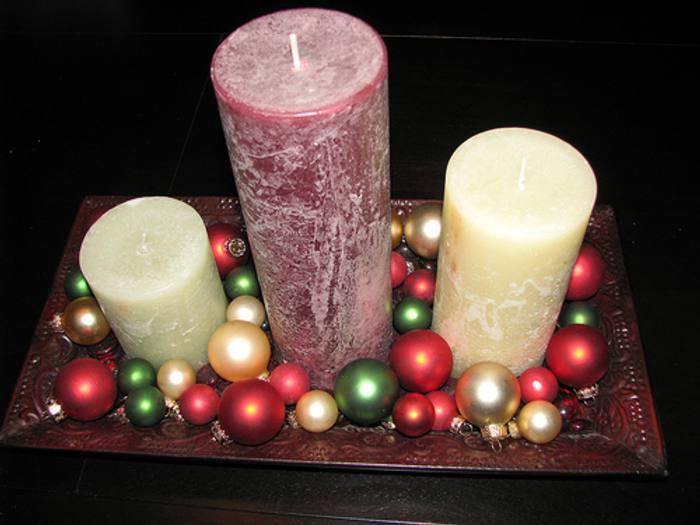 Ideas de centros de mesa para navidad segunda parte - Centros navidenos originales ...