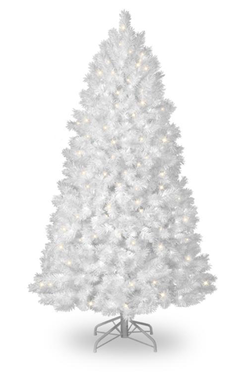 Coloridos rboles de navidad - Arboles de navidad blanco ...