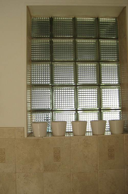 Construir y decorar con cristal pav s - Bloques de paves ...