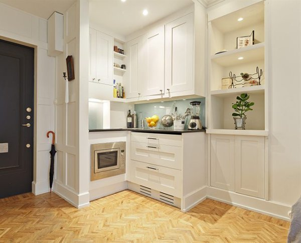 Trucos de decoraci n de cocinas peque as - Muebles de cocina pequenas ...
