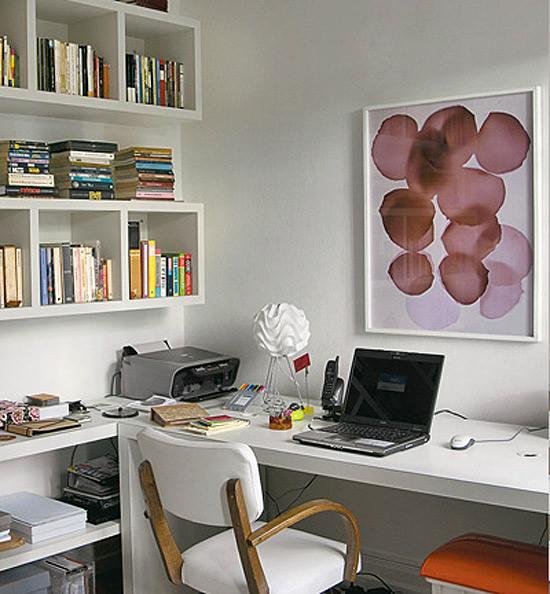 C mo decorar una zona de trabajo en casa - Decorar despacho en casa ...