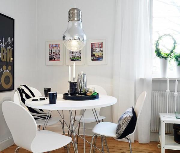 Iluminaci n original para el office - Iluminacion para comedor ...