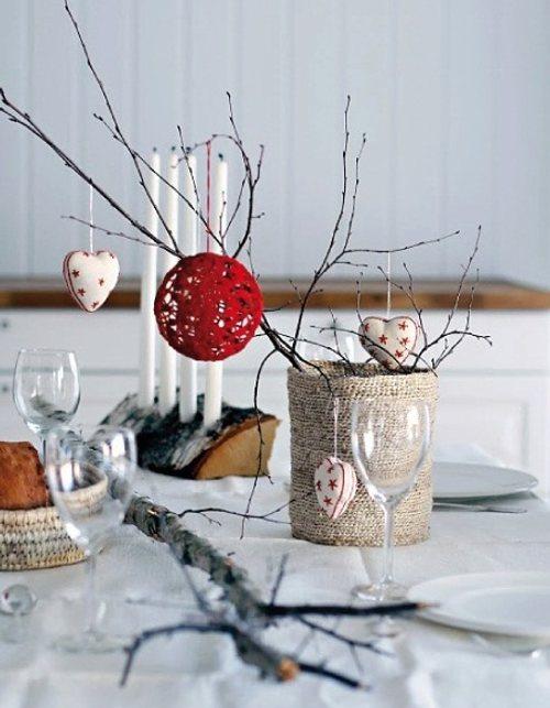 decorar Navidad con toques naturales