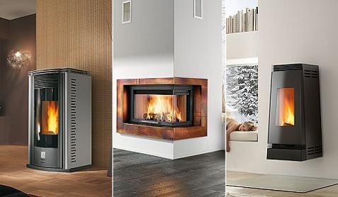 Estufas y chimeneas con ideas modernas - Modelos de chimeneas modernas ...