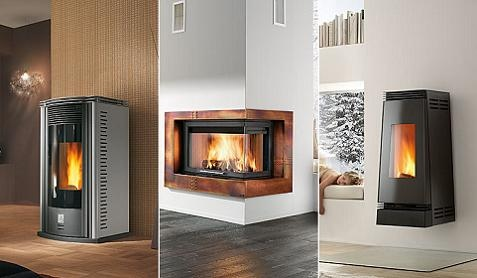 Estufas y chimeneas con ideas modernas - Chimeneas para pisos ...