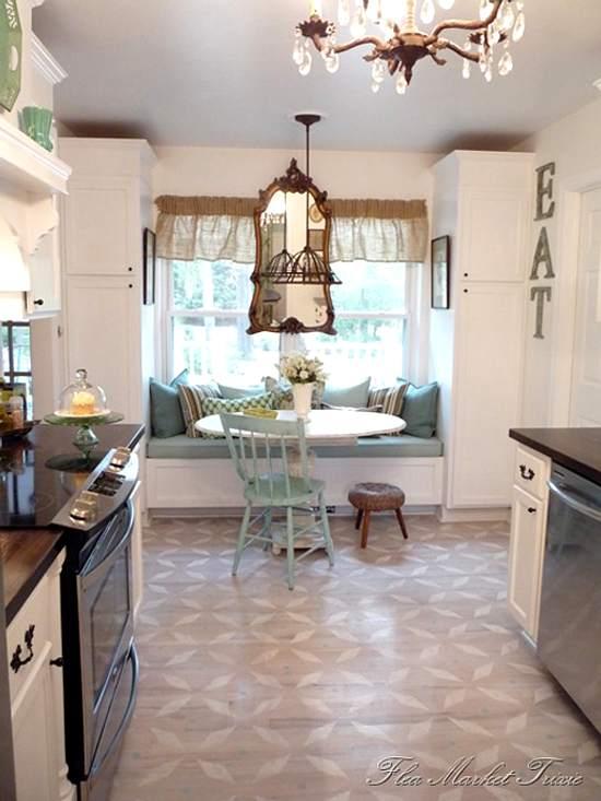 Decoraci n de una cocina pr ctica y con toques vintage - Decoracion vintage cocina ...