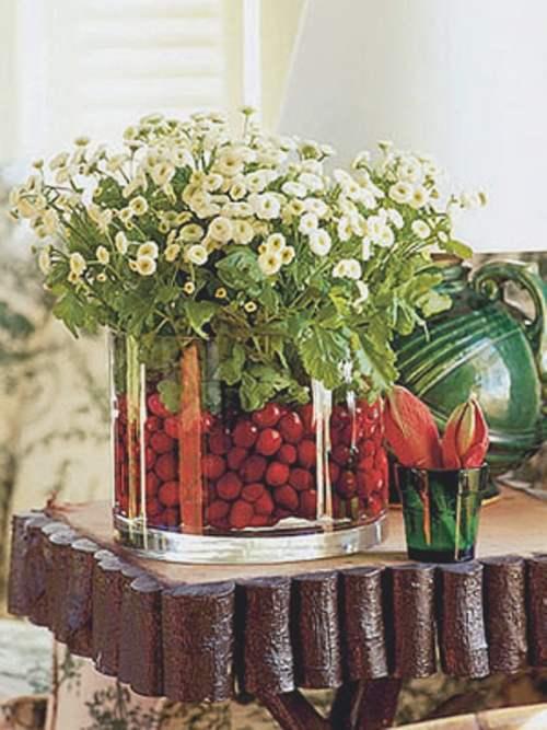Ideas para hacer centros de mesa de navidad - Ideas para decorar mesa navidad ...