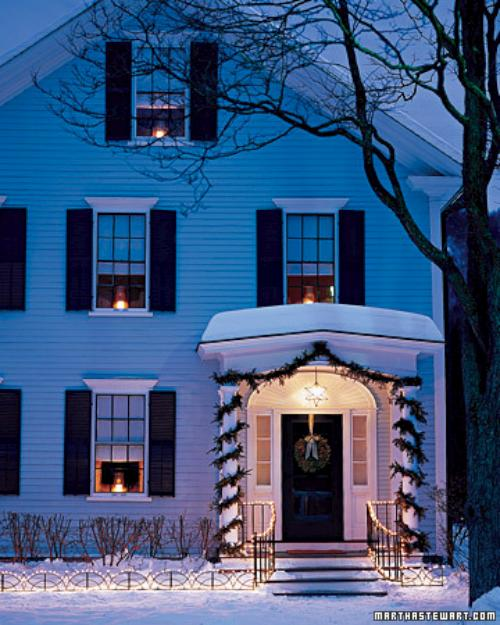 Ideas para iluminar la casa en navidad - Como iluminar una casa ...