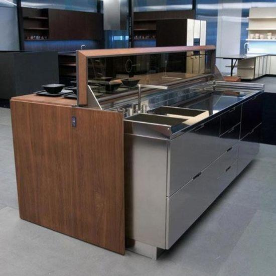 Isla de cocina de dise o automatizada for Diseno isla cocina