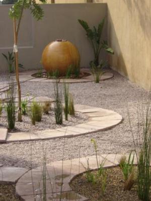diseño jardin minimalista