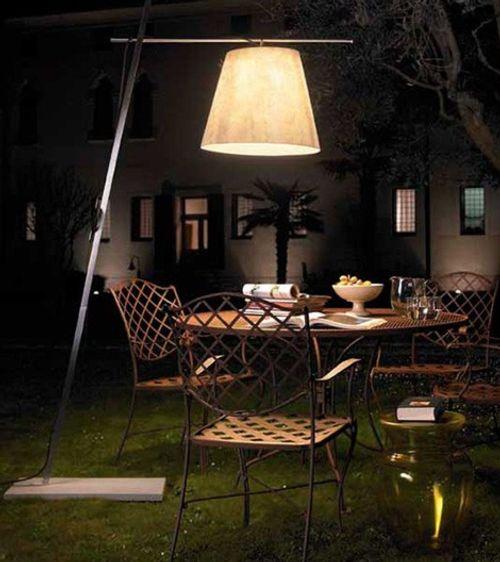 L mparas para exterior de moderno dise o - Lamparas exteriores para jardin ...