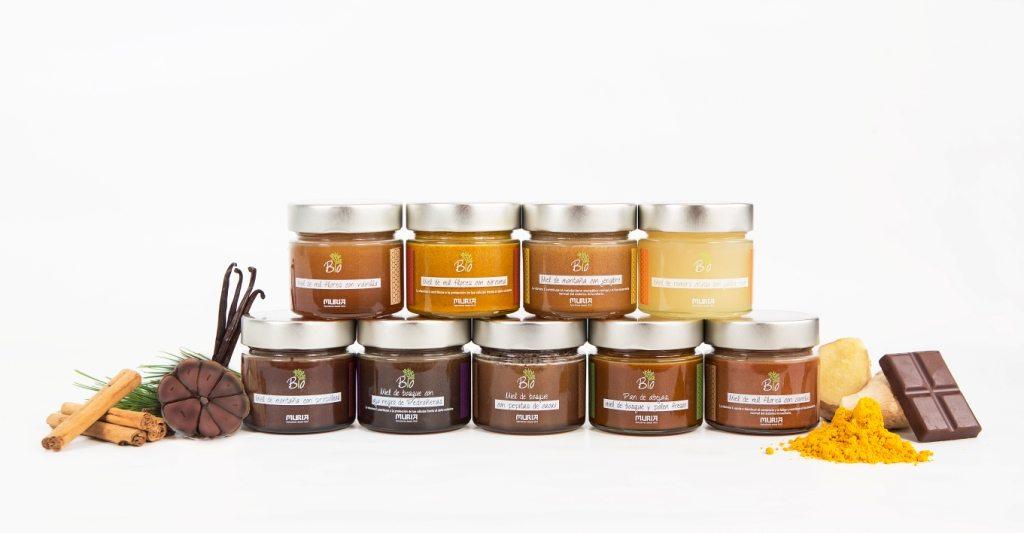 miel con sabores de bio muria