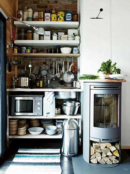 Ideas para decorar cocinas peque as for Mobiliario cocinas pequenas