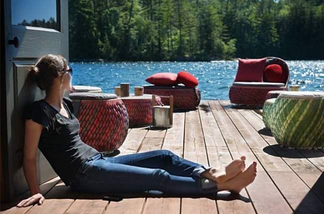 Novedades primavera verano mobiliario de exterior de dedon for Dedon muebles