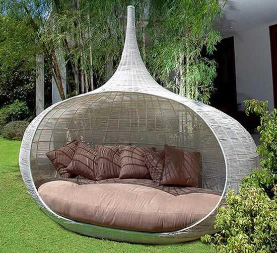 Muebles de jard n con inspiraci n oriental de lifeshop - Casa muebles jardin ...