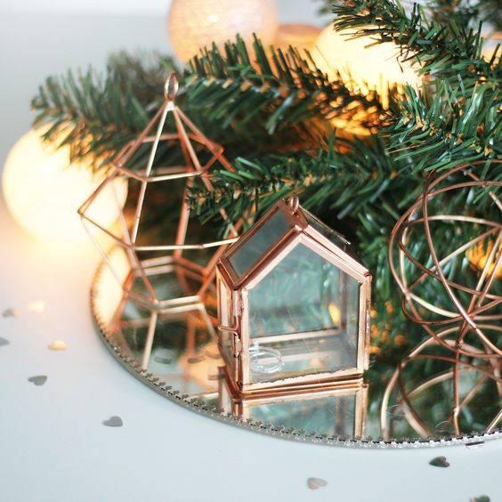 Navidad y Ano Nuevo brillantes