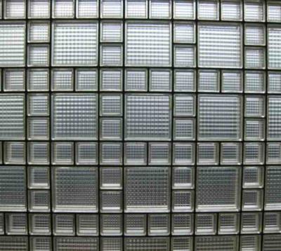 bloques de cristal