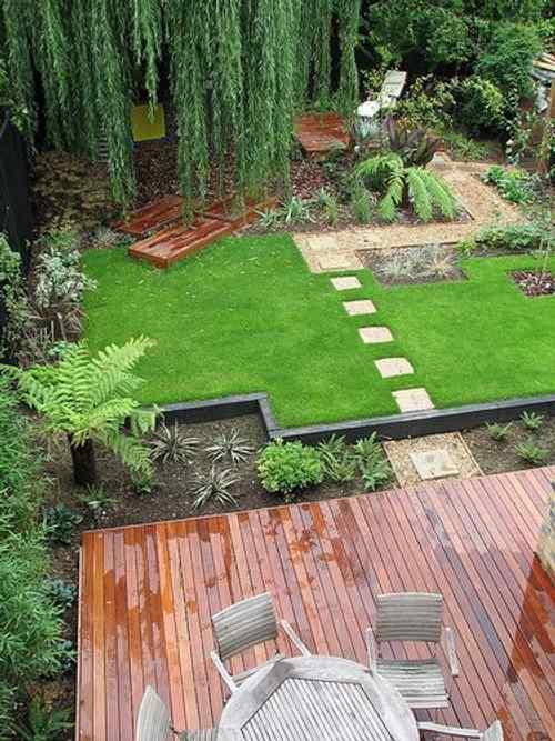 C mo hacer un sendero en el jard n de casa for Ideas para hacer un jardin en casa