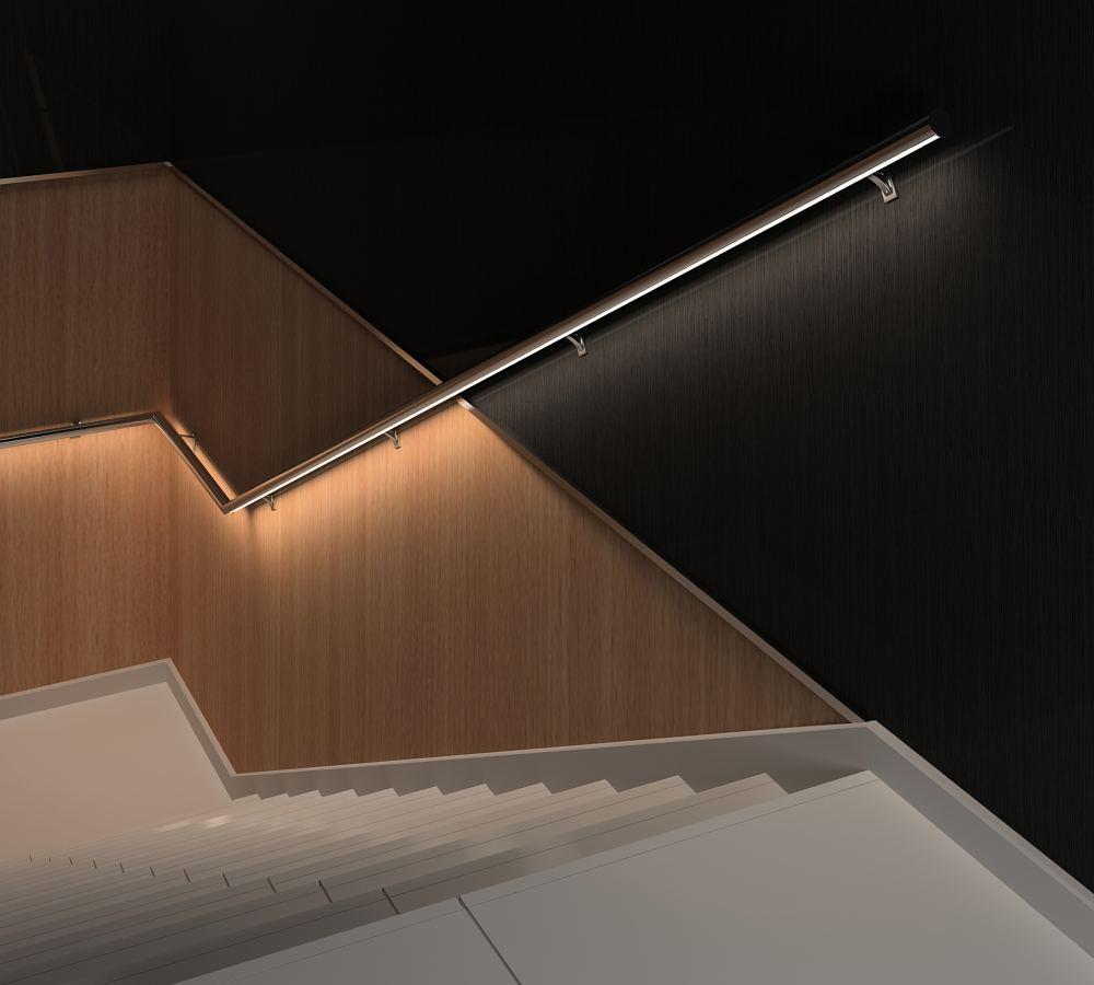 Sistema de pasamanos con luz led integrada - Luz led casa ...