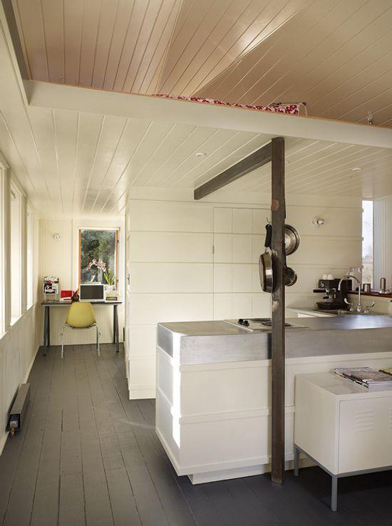 Garaje convertido en una moderna mini vivienda - Soluciones para casas pequenas ...