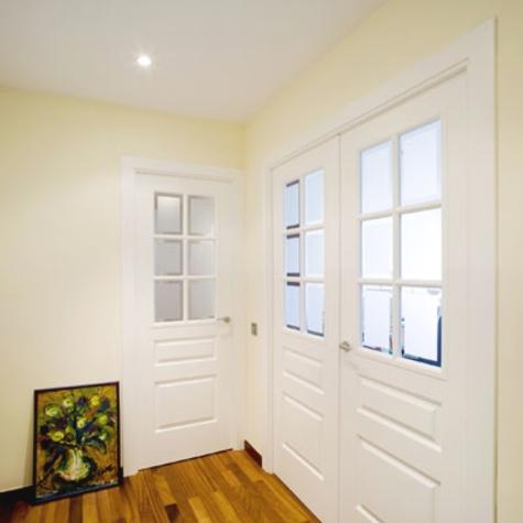 Tipos de puertas de interior primera parte for Puertas para jardin interior