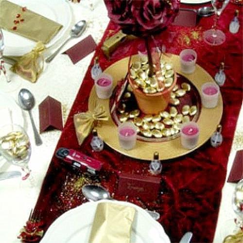 Ideas mesas de navidad y de a o nuevo for Ideas mesa navidad