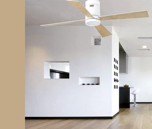 ventilador de techo moderno
